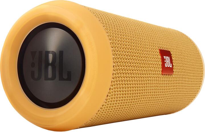 JBL Flip3, žlutá