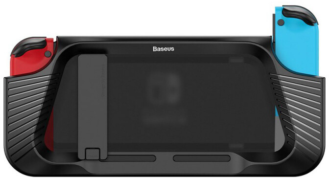 Baseus SW Anti Drop Stand Case for Nintendo Switch, černá