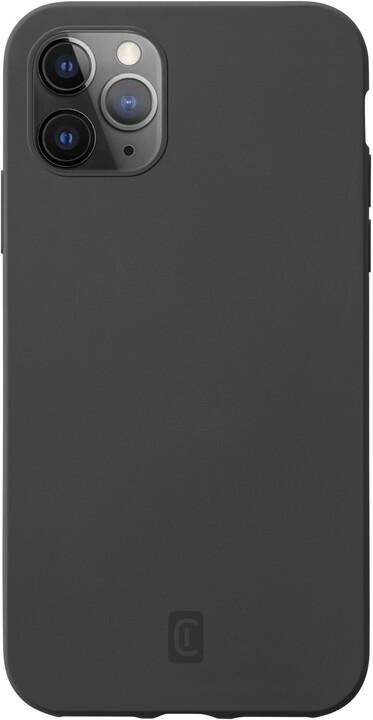 CellularLine silikonový kryt Sensation pro Apple iPhone 12 Pro Max, černá