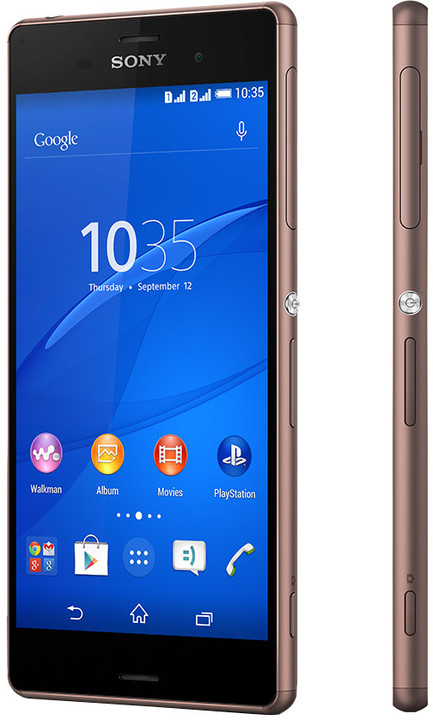 Sony Xperia Z3 Dual, měděná