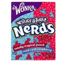 Wonka Surf & Turf Tropical Punch & Raspberry Nerds 46,7 g