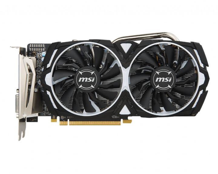 MSI Radeon RX 570 ARMOR 4G, 4GB GDDR5
