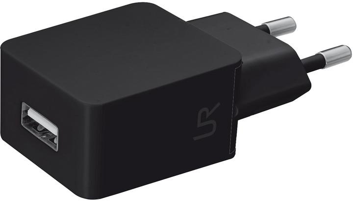 Trust USB nabíječka 5W, 1A, černá