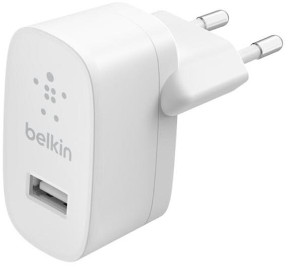 Belkin síťová nabíječka USB-A, 12W, bílá