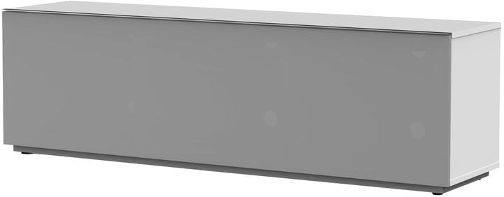 Meliconi 500410 TV stolek, textilní 16040F, bílá
