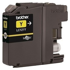 Brother LC-121Y, žlutá