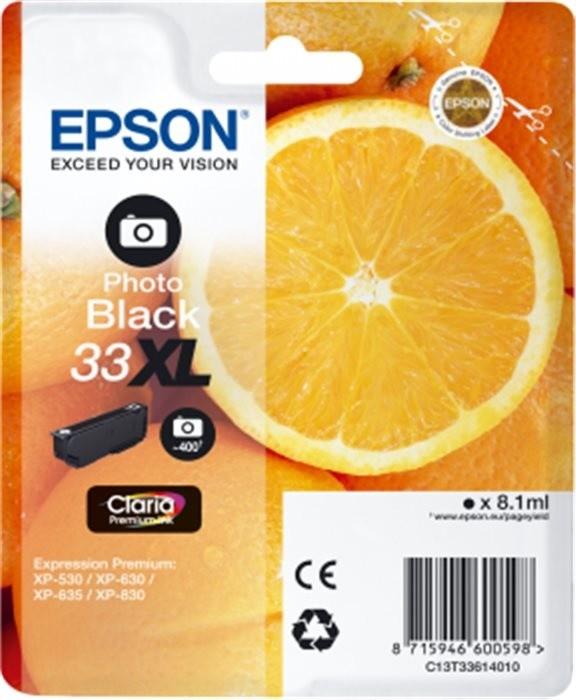 Epson C13T33614010, XL, černá photo