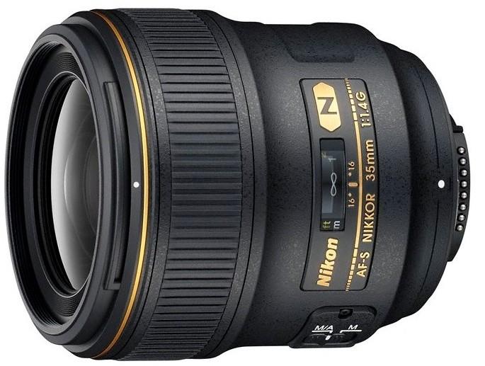 Nikon objektiv Nikkor 35mm F1.4G AF-S
