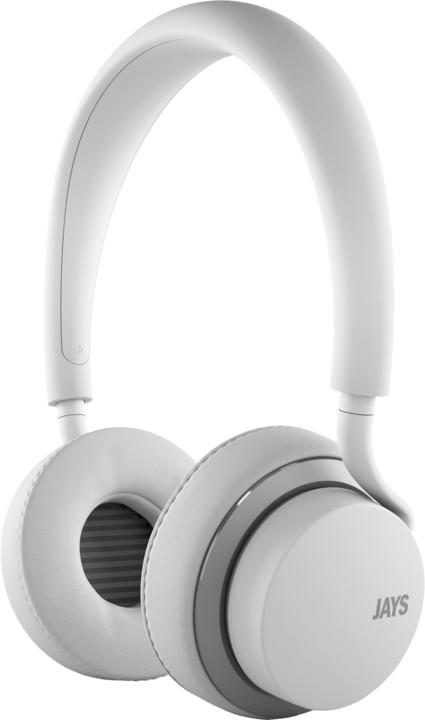 JAYS u-Jays iOS, bílo-stříbrná