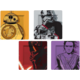 Talíře Star Wars - BB-8, Rey, Kylo Ren a Phasma (sada 4 kusů)