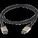 PremiumCord Kabel USB 3.1 konektor C/male - USB 3.1 konektor C/male, 0,5m hliníkové konektory