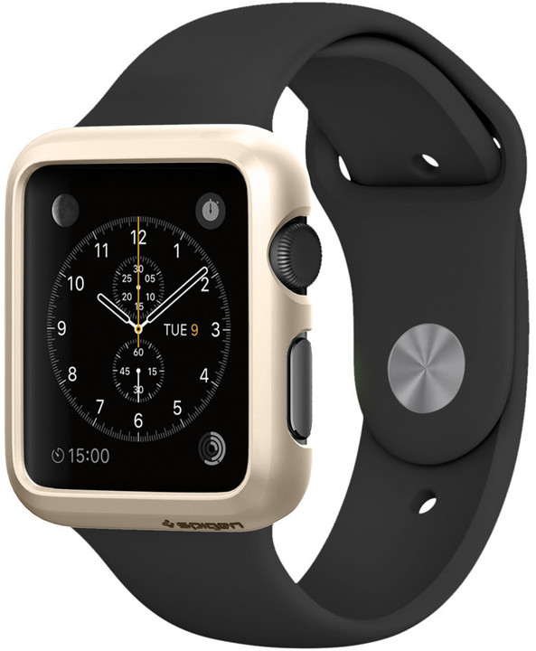 Spigen Thin Fit, champag. gold- Apple Watch 42mm
