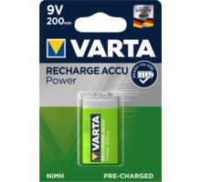 VARTA nabíjecí baterie Power 9V 200 mAh, 1ks - 56722101401