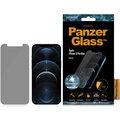 PanzerGlass ochranné sklo Standard Privacy pro iPhone 12 Pro Max, antibakteriální, 0.4mm, čirá