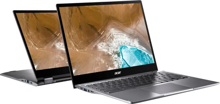 Acer Chromebook Spin 13 (CP713-2W-34CU), šedá