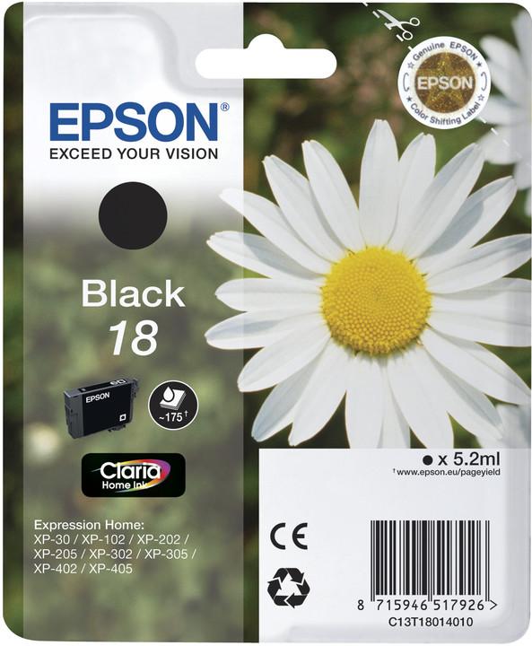 Epson C13T18014010, černá