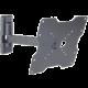 Meliconi 580414 CME Rotation ER 200 nástěnný náklonný držák na TV, černá
