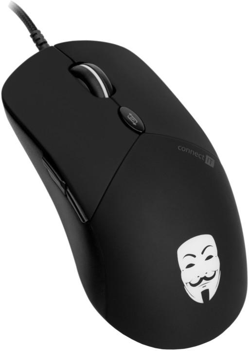 CONNECT IT CMO-3570 Anonymouse, černá