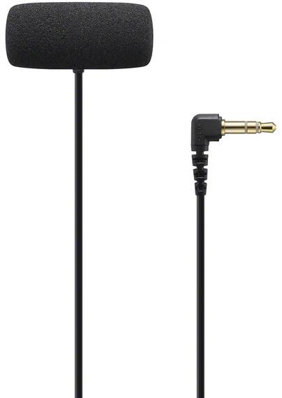 Sony ECM-LV1, klopový, černá