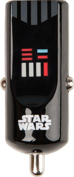 Tribe Star Wars Darth Vader Nabíječka do auta - Černá