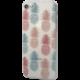 EPICO pružný plastový kryt pro iPhone 7/8, sweet pineapple