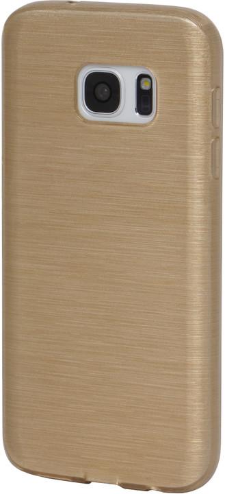 EPICO plastový kryt pro Samsung Galaxy S7 STRING - zlatý