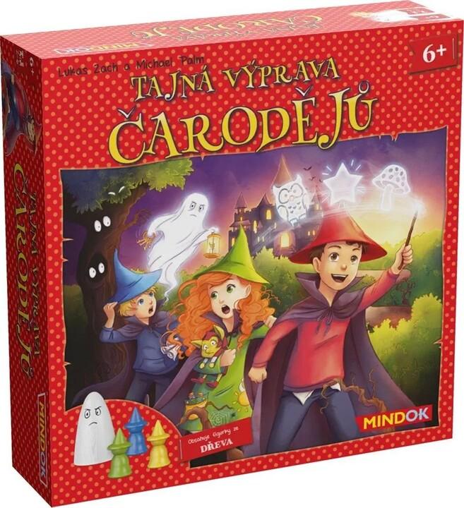 Desková hra Tajná výprava čarodějů