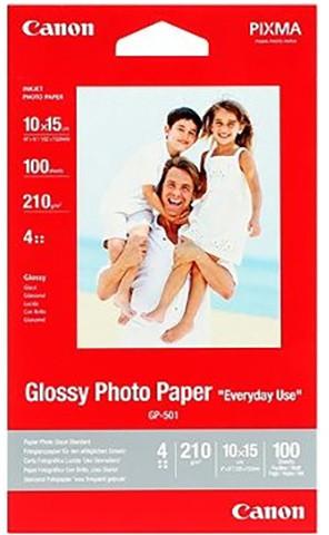 Canon Foto papír GP-501, A4, 100 ks, 210g/m2, lesklý