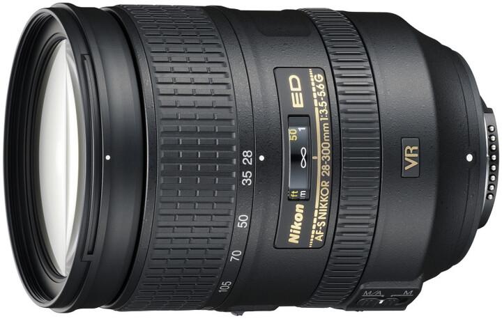 Nikon objektiv Nikkor 28-300mm f/3.5-5.6G ED VR AF-S