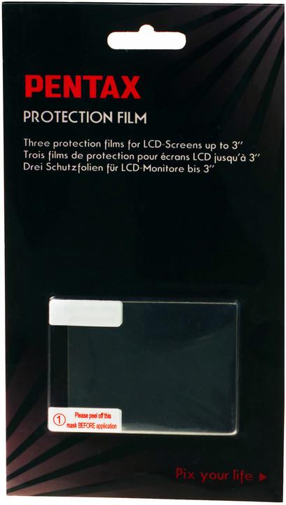 Pentax ochranná fólie na LCD 3'' (sada 3ks)