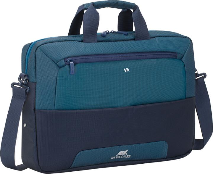 "RivaCase Suzuka 7737 taška na notebook 15,6"", modrá"