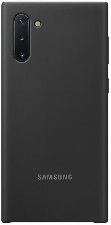 Samsung silikonový zadní kryt pro Galaxy Note10, černá