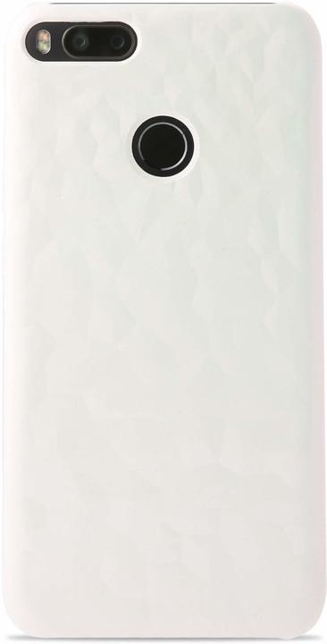 Xiaomi Mi A1 Textured Hard case Pink