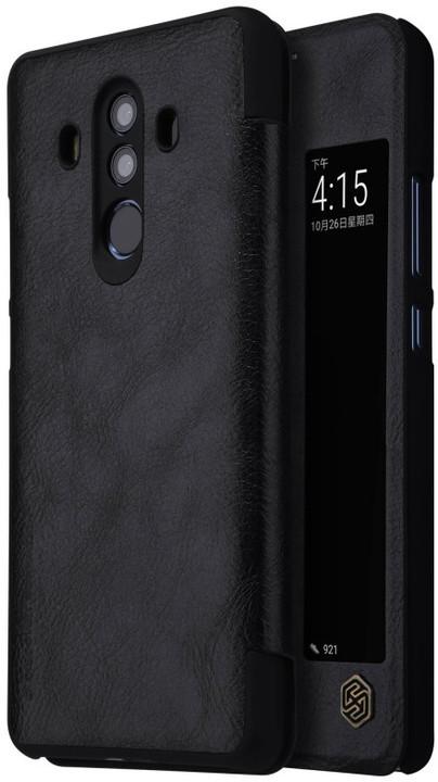 Nillkin Qin S-View pouzdro pro Huawei Mate 10 Pro, Black