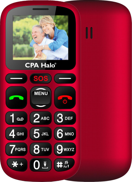 CPA HALO 16, Red