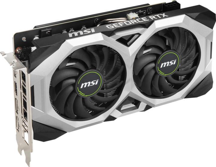 MSI GeForce RTX 2060 SUPER VENTUS GP OC, 8GB GDDR6