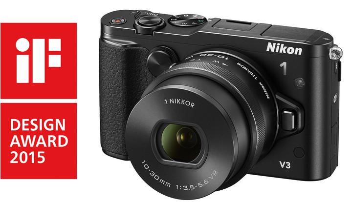 Nikon 1 V3 + 10-30mm