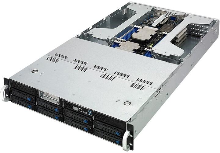 """ASUS ESC4000G4, LGA3647, 16GB RAM, 8x3,5""""/2,5"""" SATA/SAS/2xNVMe, 2200W"""