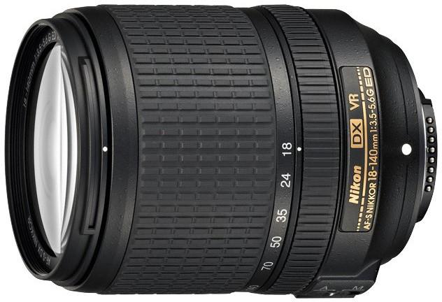 Nikon objektiv Nikkor 18-140mm F3.5-5.6G AF-S DX VR