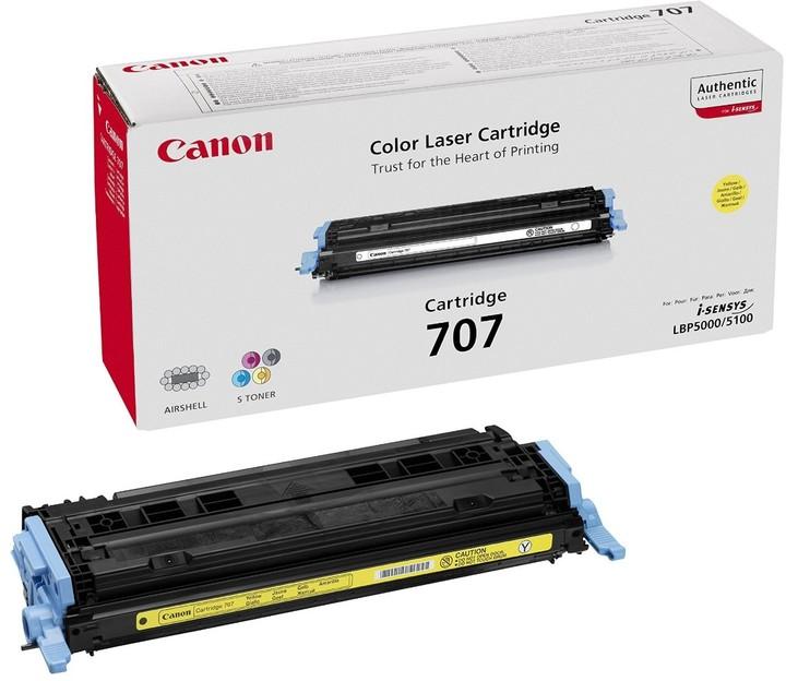 Canon CRG-707Y, žlutý