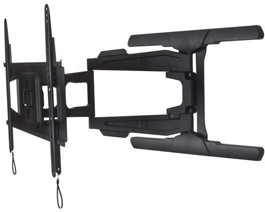 B-TECH Ventry ultratenký univerzální držák na stěnu s dvojitým ramenem, VESA 600x400