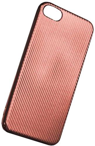 Forever silikonové (TPU) pouzdro pro Samsung Galaxy A5 2017, carbon/růžová/zlatá