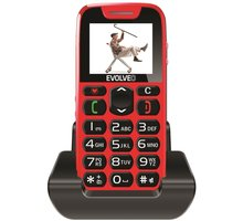Evolveo EasyPhone SGM EP-500, Red