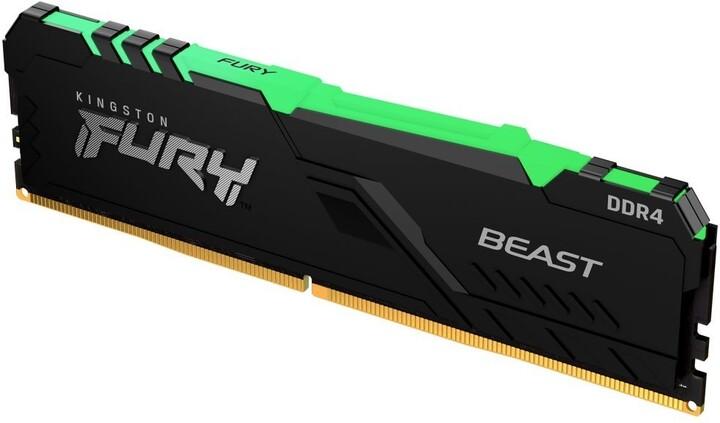 Kingston Fury Beast RGB 8GB DDR4 2666 CL16