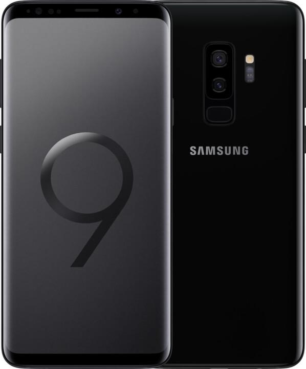 Samsung Galaxy S9+, 64GB, Dual SIM, černá
