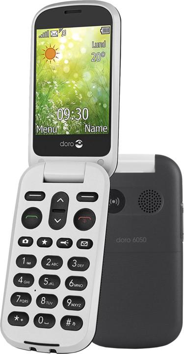 Doro 6050, černo/bílá