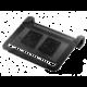 CoolerMaster NotePal U2 Plus, černá  + 300 Kč na Mall.cz