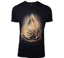 Tričko Assassin's Creed: Origins - Hieroglyphics Crest (M) - 8718526083507