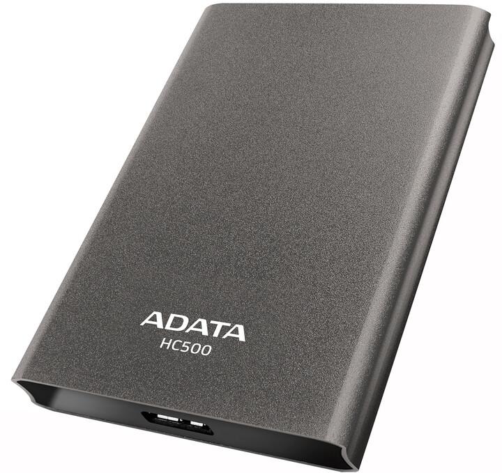 ADATA HC500 - 2TB, titanová