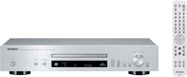 Yamaha CD-N301, stříbrná